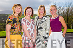 At the Annual Ladies Luncheon in aid of MS branch Tralee/West Kerry Branch at Ballyroe Heights Hotel on Sunday were l-r  Angela Teehan, Emer Dourieu, Katie O'Neill and Ann Foley