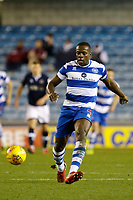 Nedum Onuoha of Queens Park Rangers passes the ball during the Sky Bet Championship match between Millwall and Queens Park Rangers at The Den, London, England on 29 December 2017. Photo by Carlton Myrie / PRiME Media Images.