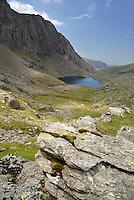 Clogwyn Du'r Arddu and Llyn Arddu, Snowdonia, Wales