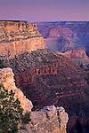 Morning light on the South Rim, near Grand Canyon Village, Grand Canyon National Park, ARIZONA