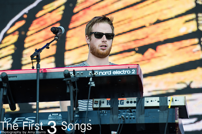 Wes Bailey of Moon Taxi performs at the 2nd Annual BottleRock Napa Festival at Napa Valley Expo in Napa, California.