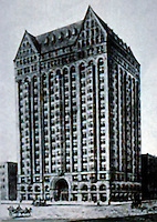 Burnham & Root: Masonic Temple, Chicago 1892. (Demolished 1939.)