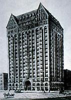 Burnham & Root: Masonic Temple, Chicago 1892. (Demolished 1939.)