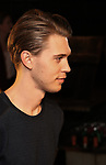 """Austin Butler attends the Broadway cast of """"The Iceman Cometh""""  Press Photocall at Delmonico's on April 11, 2018 in New York City."""