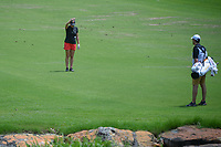Ceilia Barquin Arozamena (a)(ESP) takes a drop on 17 after hitting into the hazard during round 1 of the U.S. Women's Open Championship, Shoal Creek Country Club, at Birmingham, Alabama, USA. 5/31/2018.<br /> Picture: Golffile | Ken Murray<br /> <br /> All photo usage must carry mandatory copyright credit (&copy; Golffile | Ken Murray)