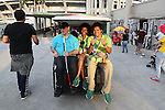 Volunteers,<br /> SEPTEMBER 7, 2016 : Opening Ceremony at Maracana <br /> during the Rio 2016 Paralympic Games in Rio de Janeiro, Brazil. <br /> (Photo by Shingo Ito/AFLO)