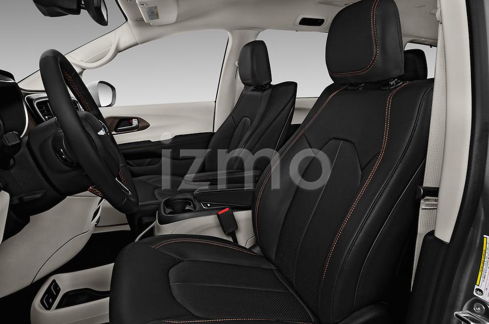 Front seat view of 2017 Chrysler Pacifica Touring-L-Plus 5 Door Minivan Front Seat  car photos