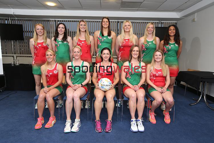 Welsh Netball World Cup Reception<br /> Millennium Stadium<br /> 11.07.15<br /> &copy;Steve Pope - SPORTINGWALES