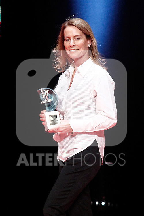 Spanish sailor Theresa Zabell during 37 Sport Gala - National Sports Awards 2017. March 6,2017. (ALTERPHOTOS/Acero)