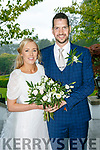 Sandra O'Donoghue and Kevin Prunty were married at Sacred Heart Lyreacrompane by Fr. Jack O'Donnell on Friday 21st July 2017 with a reception at Ballygarry House Hotel