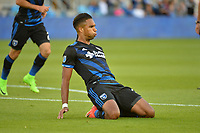 San Jose, CA - Saturday June 24, 2017: Danny Hoesen during a Major League Soccer (MLS) match between the San Jose Earthquakes and Real Salt Lake at Avaya Stadium.