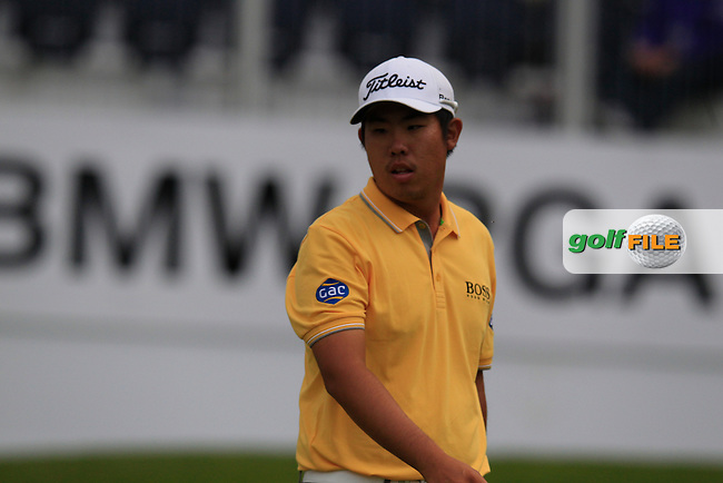 Byeong HUN-AN (KOR) during round 2 of the 2015 BMW PGA Championship over the West Course at Wentworth, Virgina Water, London. 22/05/2015<br /> Picture Fran Caffrey, www.golffile.ie: