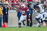 STANFORD, CA - NOVEMBER 23, 2013: Anthony Wilkerson  during Stanford's game against Cal. The Cardinal defeated the Bears 63-13.