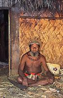 Oceania, Papua New Guinea, Pacific,Huli man