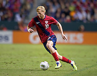 Carson, Ca-Friday Sept. 2, 2011: USA's Brek Shea during a 1-0 loss to Costa Rica at the Home Depot Center.