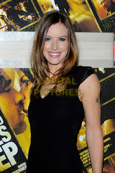 Charlie Webster.The 'A Thousand Kisses Deep' UK film premiere, Apollo cinema, Lower Regent St., London, England..June 12th, 2012.half length black sleeveless dress  .CAP/CJ.©Chris Joseph/Capital Pictures.