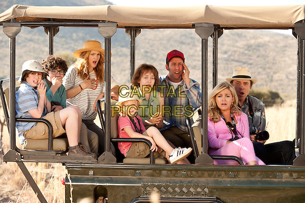 Kyle Red Silverstein, Braxton Beckham, Drew Barrymore, Alyvia Alyn Lind, Emma Fuhrmann, Adam Sandler, Jessica Lowe, Kevin Nealon<br /> in Blended (2014) <br /> *Filmstill - Editorial Use Only*<br /> CAP/NFS<br /> Image supplied by Capital Pictures