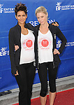 "Halle Berry and Julie Bowen at the ""20th Annual EIF Revlon Run/Walk For Women"" held at the Los Angeles Memorial Coliseum at Exposition Park on May 11, 2013."
