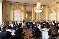 20141014 Workshop på Slottet för Stiftelsen Ungt Ledarskap med HM Konungen