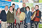 TRIBUTE: A tribute to Tom Munnelly was held in the ITT on Friday during the International Council for Traditional Music, Ireland Annual Symposium. From front l-r were: Jim Carroll, Theresa Smith, Annette Munnelly, Colette Moloney and David Heaslip. Back l-r were: Jonathon Kelliher, Susan Motherway, Pat McGarty and Pat MacKenzie.   Copyright Kerry's Eye 2008