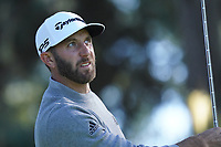 Dustin Johnson (USA) in action at Spyglass Hill during the first round of the AT&T Pro-Am, Pebble Beach Golf Links, Monterey, California, USA. 06/02/2020<br /> Picture: Golffile | Phil Inglis<br /> <br /> <br /> All photo usage must carry mandatory copyright credit (© Golffile | Phil Inglis)