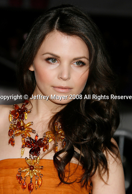 """HOLLYWOOD, CA. - February 02: Actress Ginnifer Goodwin arrives at the Los Angeles Premiere of """"He's Just Not That Into You"""" held at the Grauman's Chinese Theatre on February 2, 2009 in Los Angeles, California."""