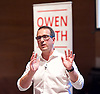 Owen Smith MP<br /> Labour Leadership candidate <br /> Rally at Lyric Theatre, Hammersmith, London, Great Britain <br /> 23rd August 2016 <br /> <br /> Owen Smith MP<br /> <br /> <br /> Photograph by Elliott Franks <br /> Image licensed to Elliott Franks Photography Services