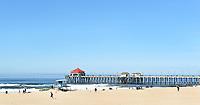 Huntington Beach Pier Pano