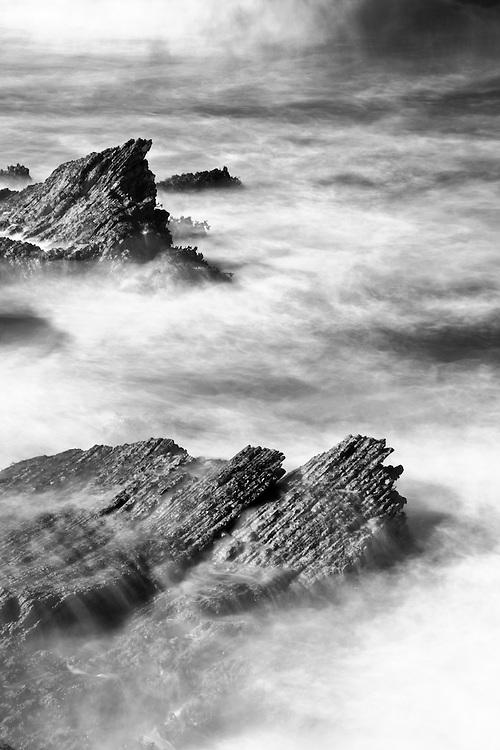Rocks and Surf, Montana de Oro, California