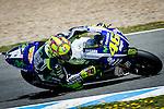 Jerez Circuit. Jerez de la Frontera. 03.05.2014. The rider Valentino Rossi during official MotoGP Grand Prix in Jerez.