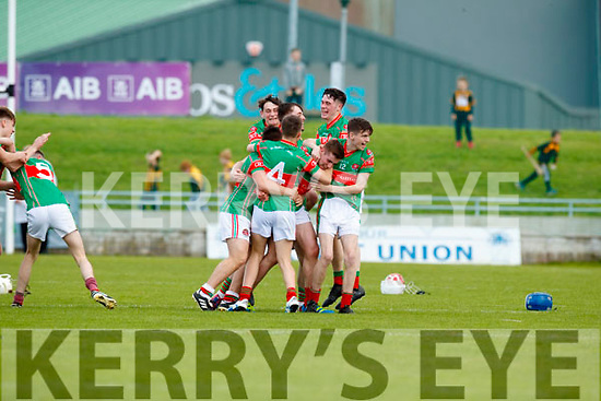 Crotta O'Neills in action against Abbeydorney/Tralee Parnells in the Minor Hurling County Final   at Austin Stack Park on Sunday.