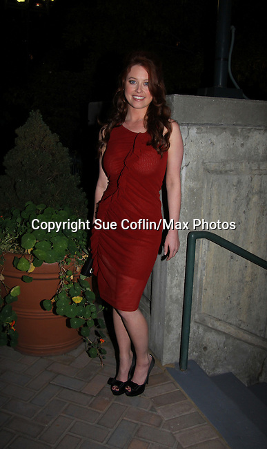 One Life To Live's Melissa Archer attends ABC Daytime Soap Casino Night with the Stars on October 28, 2010 at Guastavinos, New York City, New York. (Photo by Sue Coflin/Max Photos)