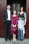 Sarah-Beth Bradley and family at the Confirmation in St.Mary's Church...Photo NEWSFILE/Jenny Matthews.(Photo credit should read Jenny Matthews/NEWSFILE)....This Picture has been sent you under the condtions enclosed by:.Newsfile Ltd..The Studio,.Millmount Abbey,.Drogheda,.Co Meath..Ireland..Tel: +353(0)41-9871240.Fax: +353(0)41-9871260.GSM: +353(0)86-2500958.email: pictures@newsfile.ie.www.newsfile.ie.FTP: 193.120.102.198.