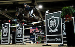 Jessica Mendoza of United Kingdom riding Ramiro de Belle Vue competes at the HKJC Trophy during the Longines Hong Kong Masters 2015 at the AsiaWorld Expo on 13 February 2015 in Hong Kong, China. Photo by Juan Flor / Power Sport Images