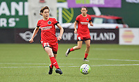 Portland, Oregon - Wednesday June 22, 2016: Portland Thorns FC defender Meghan Klingenberg (25) during a regular season National Women's Soccer League (NWSL) match at Providence Park.