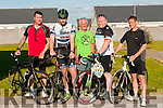 Atlantic Triathlon Club: Members of the newly formed Atlantic Tiathlon Club pictured in Ballybunion recently. L-R : Jonathan Allen, Kieran Kennelly, Vincent Cooke, Derek Nagle & Gavin  Quinlivan.