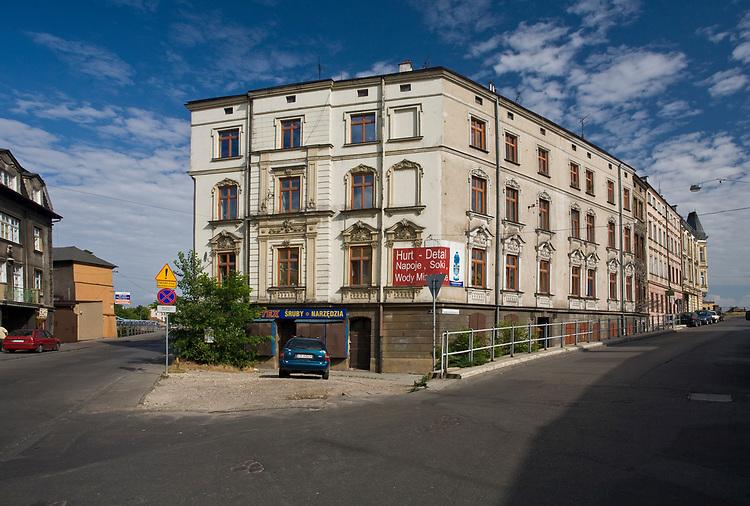 Ulica Brodzińskiego w Krakowie, Polska<br /> Brodzińskiego Street in Cracow, Poland