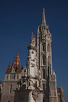 Matthis Church is a Neo-Gothic landmark in Castle Hill, Budapest