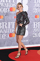LONDON, UK. February 20, 2019: Ashley Roberts arriving for the BRIT Awards 2019 at the O2 Arena, London.<br /> Picture: Steve Vas/Featureflash<br /> *** EDITORIAL USE ONLY ***