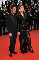 "Anthony Vaccarello & Isabelle Huppert at the gala screening for ""Sink or Swim"" at the 71st Festival de Cannes, Cannes, France 13 May 2018<br /> Picture: Paul Smith/Featureflash/SilverHub 0208 004 5359 sales@silverhubmedia.com"