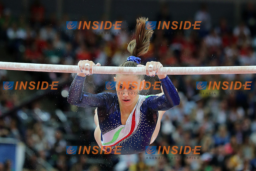 Londra 31/07/2012 North Greenwich Arena.London 2012 Olympic Games Women Gymnastic Artistic.Olimpiadi Londra 2012 Ginnastica artistica femminile a squadre.Giorgia Campana.Foto Insidefoto Paolo Nucci.