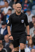Referee Charles Breakspear<br /> <br /> Photographer David Horton/CameraSport<br /> <br /> The EFL Sky Bet League One - Portsmouth v Shrewsbury Town - Saturday September 8th 2018 - Fratton Park - Portsmouth<br /> <br /> World Copyright &copy; 2018 CameraSport. All rights reserved. 43 Linden Ave. Countesthorpe. Leicester. England. LE8 5PG - Tel: +44 (0) 116 277 4147 - admin@camerasport.com - www.camerasport.com