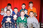 At the presentation of Duagh/Lyre community games  awards at Duagh national school hall on Friday night were front l-r Aaron O'Connor, Shane Horgan, Dylan O'Regan.  Back l-r Carrig McNulty, Thomas Scanlon, Mike Forde and Garret McCarthy. .   Copyright Kerry's Eye 2008