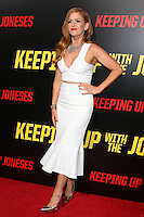 """LOS ANGELES, CA - OCTOBER 8: Isla Fisher at the """"Keeping Up with the Joneses"""" Red Carpet Event at Twentieth Century Fox Studios in Los Angeles, California on October 8, 2016. Credit: David Edwards/MediaPunch"""