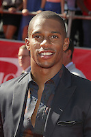 Victor Cruz at the 2012 ESPY Awards at Nokia Theatre L.A. Live on July 11, 2012 in Los Angeles, California. &copy;&nbsp;mpi20/MediaPunch Inc. *NORTEPHOTO*<br />