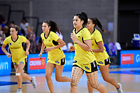 Pulse' Sulu Fitzpatrick during the ANZ Premiership - Pulse v Stars at Te Rauparaha Arena, Porirua, New Zealand on Wednesday 3 April 2019. <br /> Photo by Masanori Udagawa. <br /> www.photowellington.photoshelter.com
