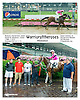 Warrioroftheroses winning at Delaware Park on 8/11/15