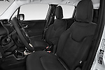 Front seat view of a 2015 JEEP Renegade Latitude Door Sport Utility Vehicle Front Seat car photos