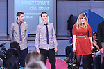 Money for Life Challenge..L-R: Ellis Isitt, Rhys Edwards and Natasha Hill..Cardiff & Vale College..20.03.12.©Steve Pope