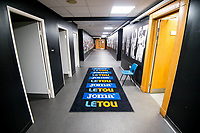 General view of the tunnel empty <br /> Re: Behind the Scenes Photographs at the Liberty Stadium ahead of and during the Premier League match between Swansea City and Bournemouth at the Liberty Stadium, Swansea, Wales, UK. Saturday 25 November 2017